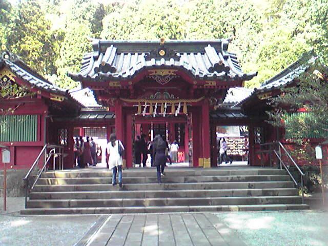 九頭龍神社と箱根神社
