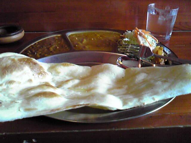 ネパール料理を食べました